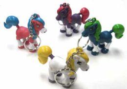 """144 Units of 2"""" Pony keychain - Key Chains"""