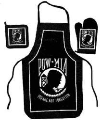 6 Units of Set consists of apron, oven mitt, hot pad - Oven Mits & Pot Holders