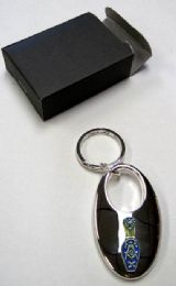"""24 Units of *2.5"""" Metal keychain with metal Masonic insignia, individually gift boxed - Key Chains"""