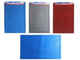 23 Units of Floor Mat 38x58cm 3asst Clr - Home Accessories