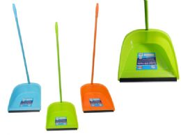 48 Units of Dustpan With Handle - Dust Pans