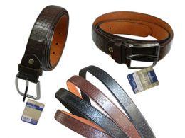 144 Units of Men's Belt - Mens Belts