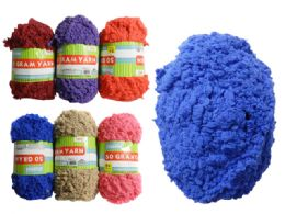 96 Units of 50g Yarn In 6 Assorted Colors - Rope and Twine
