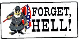 """24 Units of """"rebel Flag - Forget Hell!"""" Metal License Plate - Auto Accessories"""