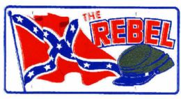 """24 Units of """"rebel Flag Soldier Metal License Plate - Auto Accessories"""
