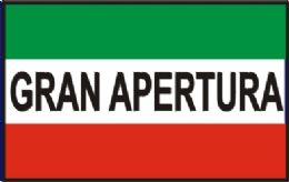 "12 Units of 3'x 5' polyester flag, ""Gran Apertura"" (grand opening) with grommets - Signs & Flags"