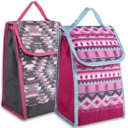 24 Units of Girls Insulated Lunch Sack - Lunch Bags & Accessories