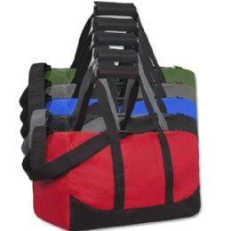 24 Units of 17 Inch Duffel Bag Assorted Colors - Duffel Bags