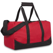 24 Units of 17 Inch Duffel Bag Red Color Only - Duffel Bags