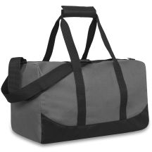 24 Units of 17 Inch Duffel Bag Grey Color Only - Duffel Bags