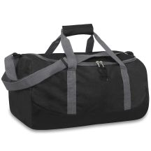 24 Units of 20 Inch Duffel Bag Black Color Only - Duffel Bags
