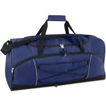 24 Units of Trailmaker 26 Inch Bungee Duffel Bag Navy Blue Color Only - Duffel Bags