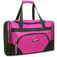 24 Units of Trailmaker Deluxe 20 Inch Duffel Bag With Large Side PocketS- Pink Color Only - Duffel Bags
