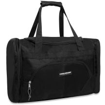 24 Units of Trailmaker Deluxe 20 Inch Duffel Bag With Large Side PocketS- Black Color Only - Duffel Bags