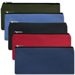 96 Units of Pencil PoucheS-5 Color Boy Assortment - Pencil Boxes & Pouches