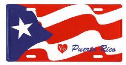 "24 Units of ""yo (love) Puerto Rico"" Metal License Plate - Auto Accessories"
