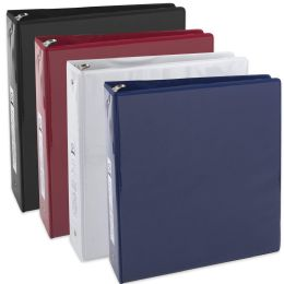 24 Units of 2 Inch Binder With Two Pockets - Assorted - Binders