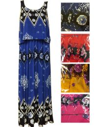48 Units of Lady's Summer Dress Assorted Color And Size - Womens Sundresses & Fashion