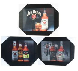 12 Units of JIM BEAM - Picture Frames