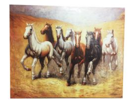 12 Units of Horse Canvas Picture - Wall Decor