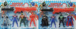 60 Units of 5.5 IN ACTION FIGURES WITH SWORD - Action Figures & Robots