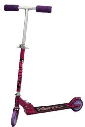 6 Units of TWO WHEEL SCOOTER 6 PIECES/BOX PINK - Biking