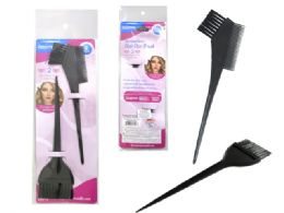 144 Units of 2 Piece Hair Dye Brushes Set - Hair Accessories