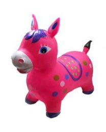 24 Units of Inflatable Jumping Pink Horse Without Light And Sound - Inflatables