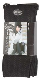 36 Units of Women's Heavy Fashion Tights - Womens Tights