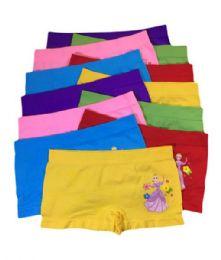 60 Units of Sophia Girls Seamless Boy Shorts - Girls Underwear and Pajamas