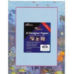 36 Units of Ocean Fish Printed Paper - Paper