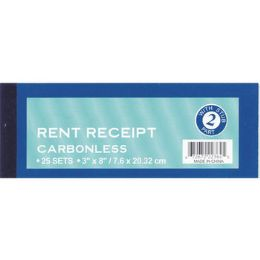 "72 Units of Rent Receipt Book - 25 sets - 3"" x 7.5"" - Receipt book"