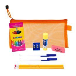 48 Units of 9 Piece Wholesale Kids School Supply Kit - School Supply Kits
