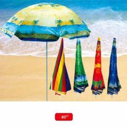 "12 Units of 40"" Beach Umbrella - Beach Toys"