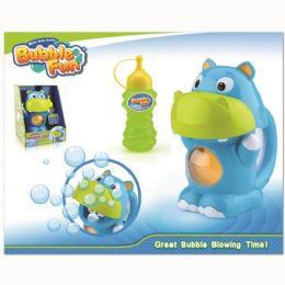 12 Units of Hippo Bubble Maker - Bubbles