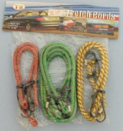 48 Units of 6pc Bungee Cord - Rope and Twine