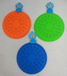 "12 Units of 9"" Silicone Disk Pet Toy - Magic & Joke Toys"