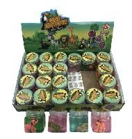72 Units of SlimE- Crystal Zootopia Assortment - Slime & Squishees