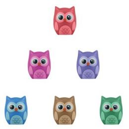 432 Units of Owl Pencil Topper - Shelving