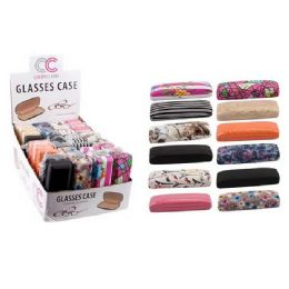36 Units of Assorted Printed Eyeglass Case - Eyeglass & Sunglass Cases