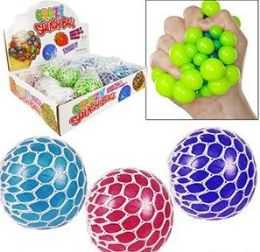 "48 Units of 2.5"" Crazy Squish Stress Balls - Balls"