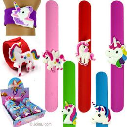 48 Units of Unicorn Slap Bracelets - Bracelets