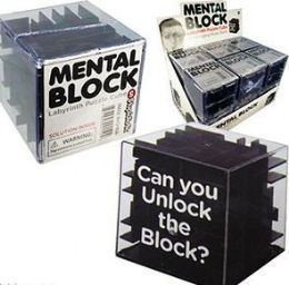 12 Units of Mental Block Labyrinth Puzzle Cubes - Puzzles