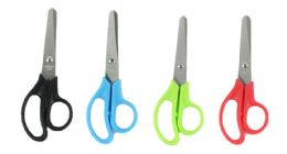 "96 Units of 5"" Kid's Blunt Tip Stainless Steel Scissors - Scissors"