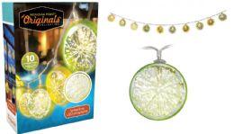 12 Units of Lemon Lime String Led Lights - LED Party Supplies