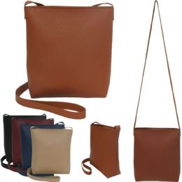 36 Units of Faux Leather Crossbody Bags - Shoulder Bags & Messenger Bags