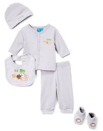 "24 Units of Newborn Boy's ""daddy Love's Me"" Set - Monkey Prints - Sizes 0-9m - Newborn Boys Apparel"