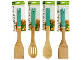 72 Units of Bamboo Kitchen Utensil - Kitchen Utensils