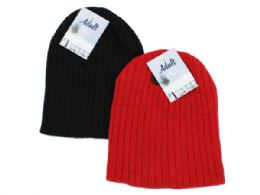 72 Units of Adult Knit Cap - Winter Beanie Hats