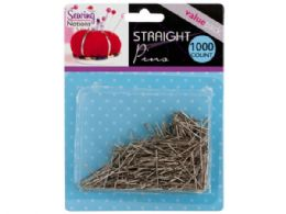 72 Units of Sewing Straight Pins - Sewing Supplies